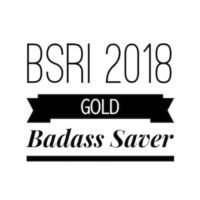 GOLD Badass Savers 2018 58.1%